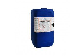 Riduttore Ph Piscina Ph Minus Liquido Alta Qualità 25kg