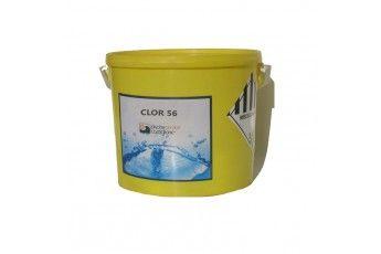 Cloro 56% Granuli Per Piscina, 5 Kg. Alta Qualità.