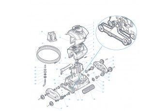 Cingolo Per Robot Piscina Shark In Produzione Fino Al 2012