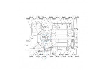 Tenuta Meccanica Per Pompa Idromassaggio Calpeda  Spa/ Spam