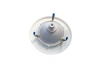 Cornice Universale Per Lampada Par 56 Completa Di Alette Di Fissaggio E Viti In Acciaio Inox