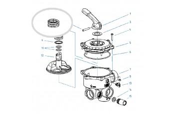 Ricambi Valvola Selettrice Diametro 1 1/2'' E 2''- Molla Per Valvola
