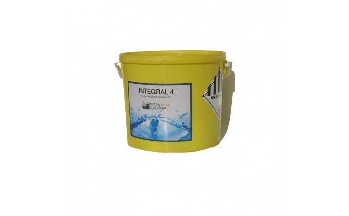 Pastiglie multifunzione per piscine integral 4 azioni. 25 kg