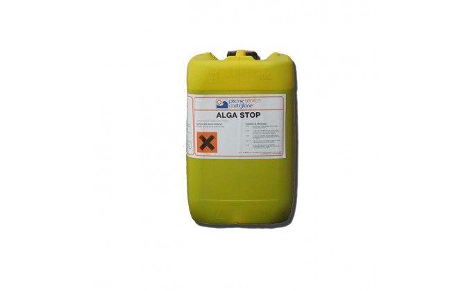 Antialghe piscina alga stop - liquido alta qualità 10 kg