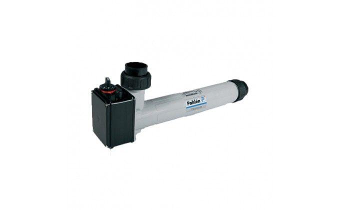 Riscaldatore acqua piscina elettrico 18 kw trifase con termostato