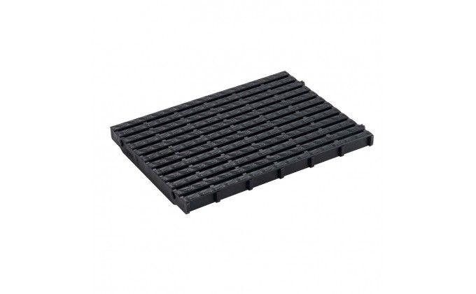 Griglia piscina nera. Larghezza 248 mm x h 25 mm. 30 Pezzi