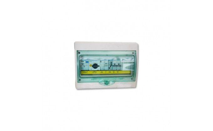 Quadro elettrico piscine sfioro pompa monofase fino 0,75 hp