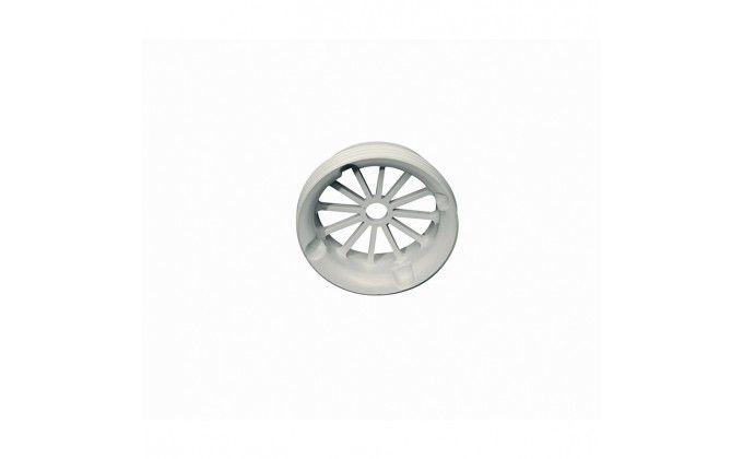Griglia per bocchetta piscina da parete, colore bianco.