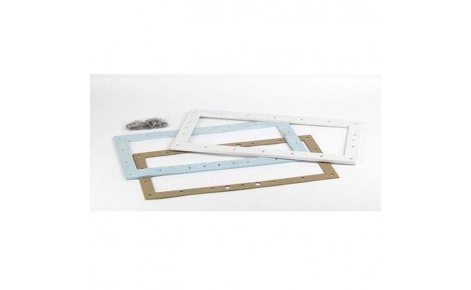 Skimmer piscina corredo bianco per pannelli in metallo