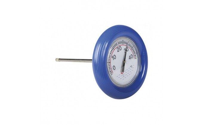 Termometro piscina galleggiante blu