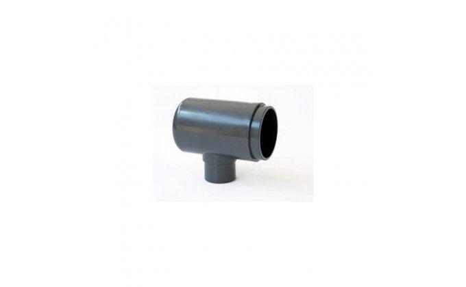Modulo per collettore in pvc a tee ad incollaggio da 110 mm