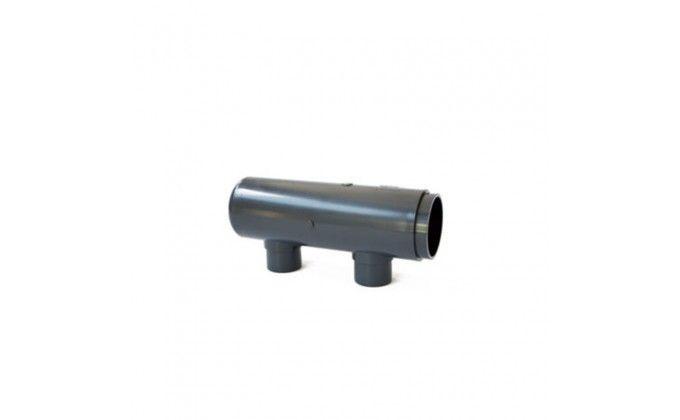 Modulo per collettore a t ad incollaggio da 110mm a 2 uscite