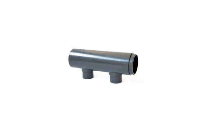 Modulo per collettore ad incollaggio da 110mm a 2 uscite m/f
