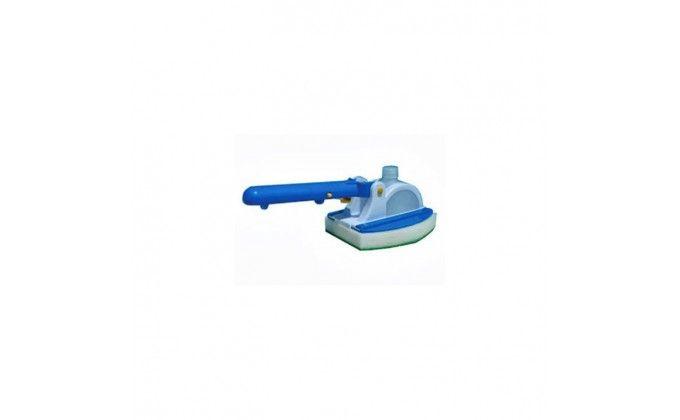Spazzola per piscina con serbatoio - pulizia linea d'acqua