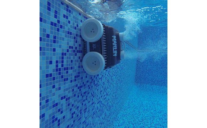 Robot piscina Marlin Super Power 50 mt con alimentatore e ricarica fissa