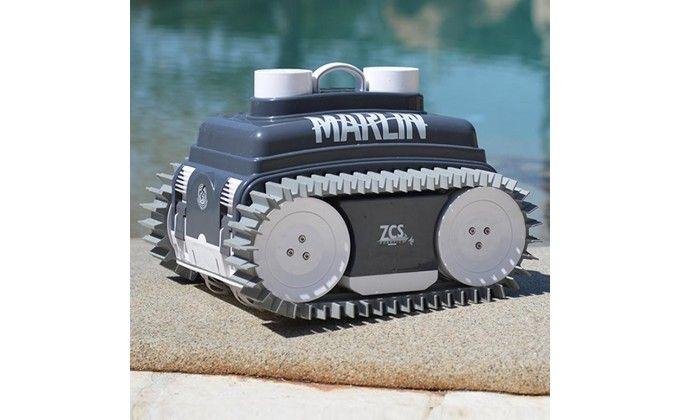 Robot piscina Marlin Classic 12 mt senza alimentatore e ricarica