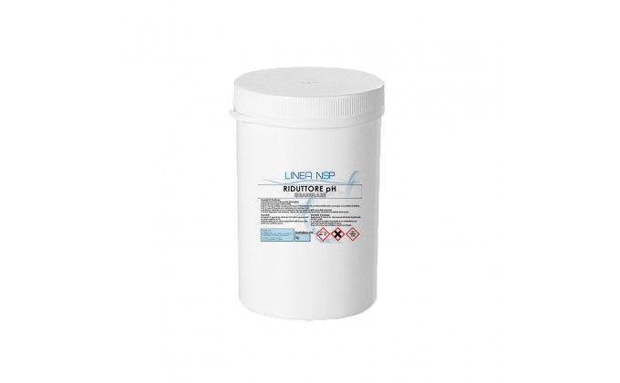 Riduttore ph piscina in polvere per abbassare il ph. 1,5 kg