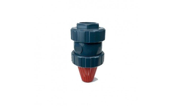 """Valvola di fondo con filtro diametro 90 mm x 3"""""""