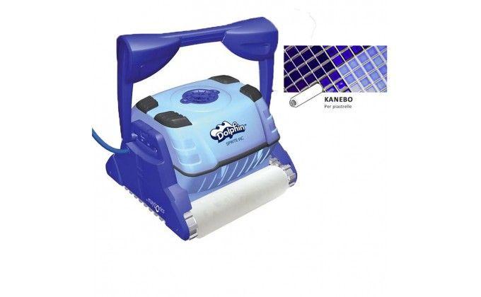 Robot pulitore piscina sprite c - spazzole kanebo