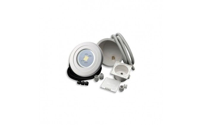 Faro piscina Mini White Eco 40 LED bianco completo - ex 100W