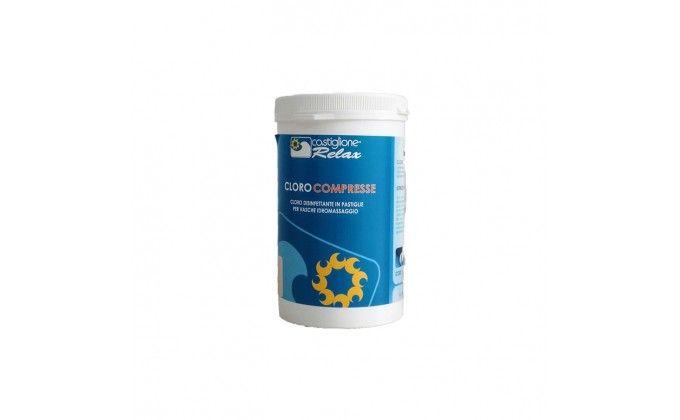 Cloro pastiglie alta qualità vasca idromassaggio 1 Kg