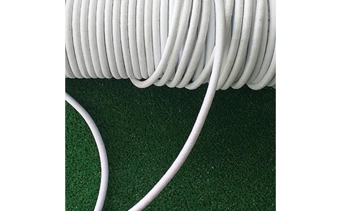 Corda elastica bianca per copertura piscina interrata e fuoriterra