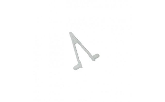Clip di ricambio staffa per aspirafango manuale per piscine - confez. da 4 pezzi