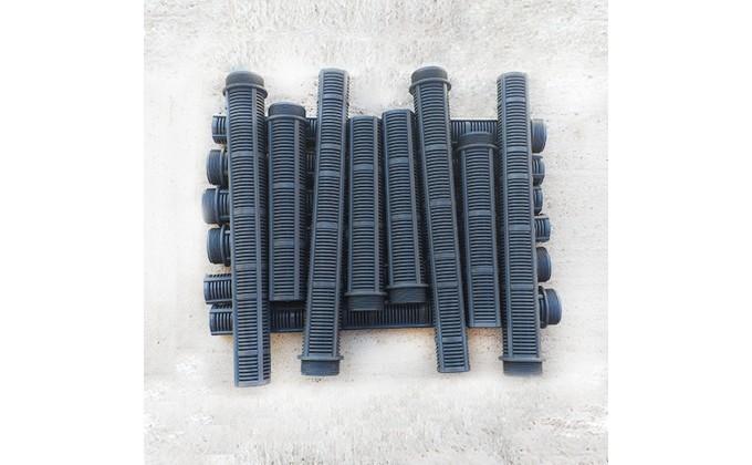 Candelotti piscina ricambio collettore filtro Astral Praga e Berlino. kit 14 pezzi diametro 120mm