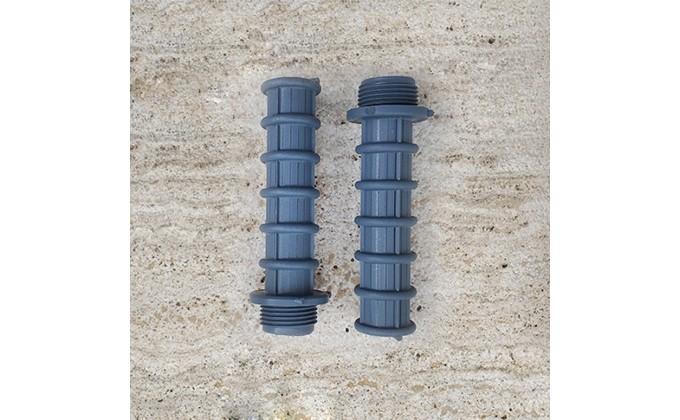 """Candelotto braccio collettore filtro piscina con attacco 3/4"""". kit 2 bracci"""