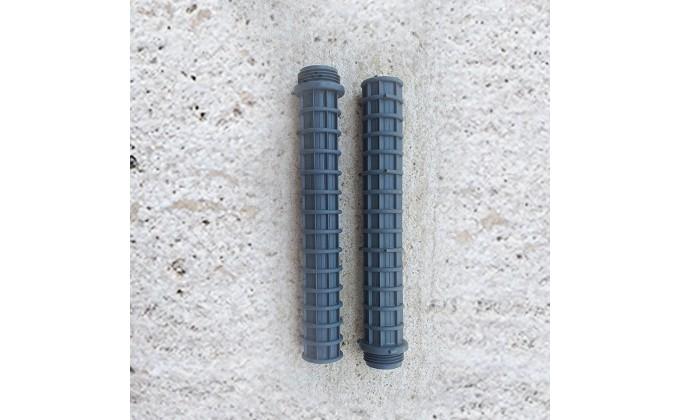 """Candelotto attacco 1"""" lunghezza 225 mm. kit 2 pezzi"""