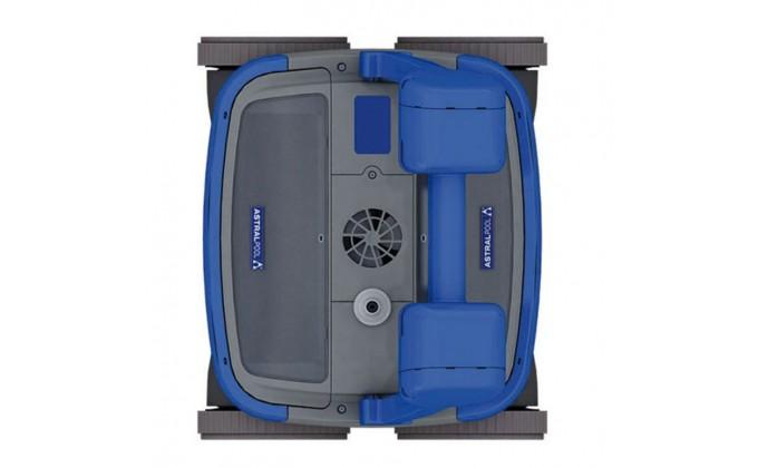 Pulitore per piscina automatico Astral R 3 - fondo piscina.