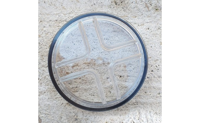 Coperchio prefiltro per pompa piscina Glass Plus con O-ring