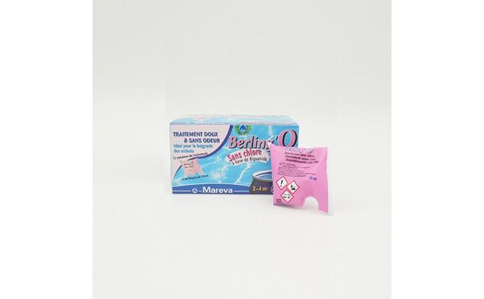 Disinfezione senza cloro Berling'o per piscine da 2 a 4 mc