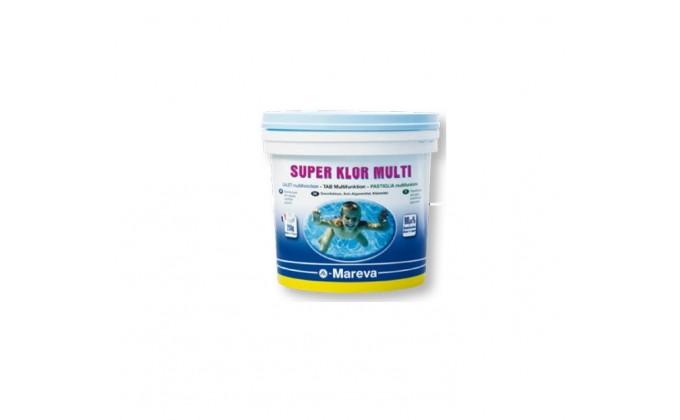 Reva-Klor – cloro multifunzione 10kg in pastiglie da 250 gr