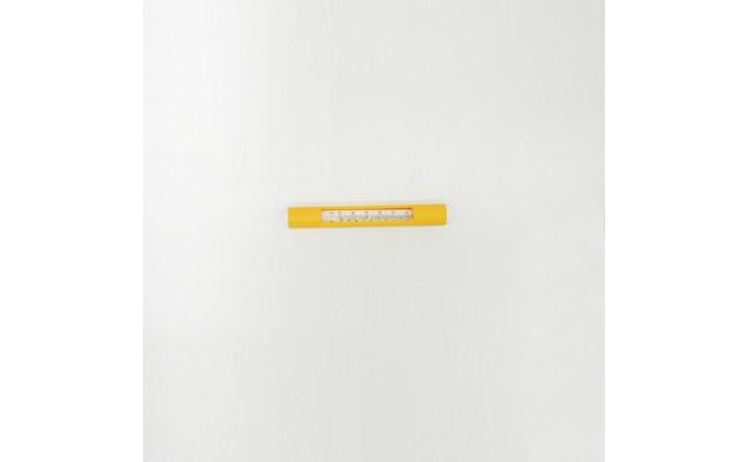 Termometro rotondo per piscina di colore giallo