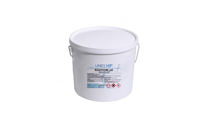 Riduttore ph per piscine in polvere - 16 kg