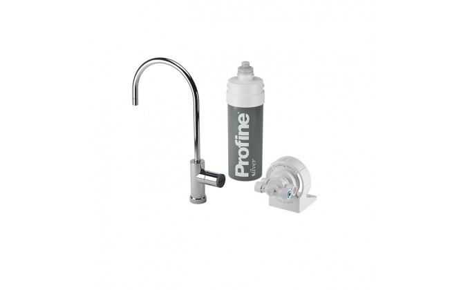 Filtro acqua da bere per uso domestico con rubinetto LED
